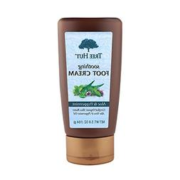 Tree Hut Soothing Foot Cream, Aloe and Peppermint, 5.8-Ounce