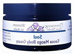 Flowersong Soul Cocoa Mango Body Cream - Deep Lasting Moistu