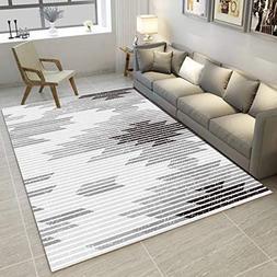 GIY Striped Living Room Area Rugs 3D Rug Rectangular Carpets