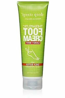 Deep Steep Therapeutic Foot Cream, Candy Mint