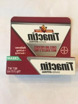 Tinactin Antifungal Cream for Athlete's Foot, 1 Ounce