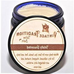 Vintage Tradition Totally Unscented Tallow Balm, 100% Grass-