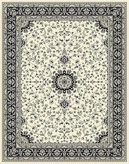 Traditional Area Rugs Cream 4x6 Rugs for Entryway Living Roo