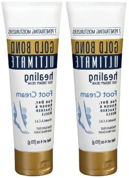 Gold Bond Ultimate Healing Foot Therapy Cream, 4 oz, 2 pk by