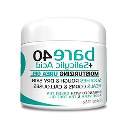 Bare Urea 40% Percent Plus Salicylic Acid Cream for Hands, F