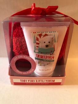 Simple Pleasures Vanilla Snow Scented Foot Cream + Pink Plus