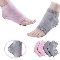 Shovan Vented Gel Heel Socks Feet Care Moisturizing Treatmen