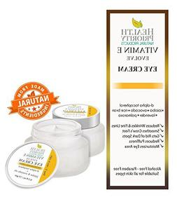 Natural Vitamin E Eye Cream for dark circles & under eyes tr