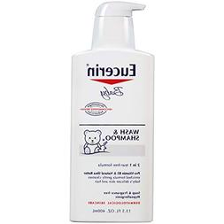 Eucerin Baby Wash and Shampoo - 13.5 Ounce