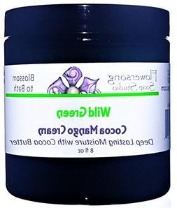 Flowersong Wild Green Cocoa Mango Body Cream - Deep Lasting