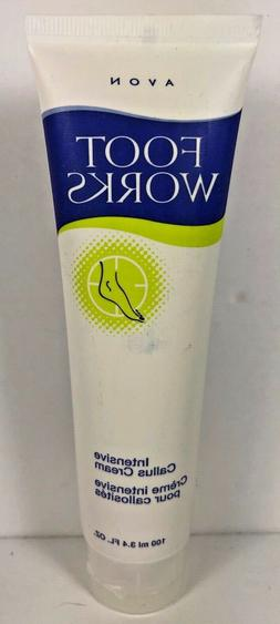 2 AVON FOOT WORKS HEALTHY INTENSIVE CALLUS CREAM -NEW- SEALE